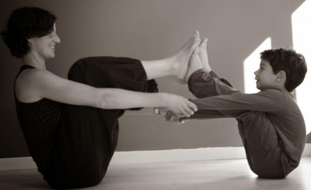 Pause yoga Bordeaux - Yoga parent enfant